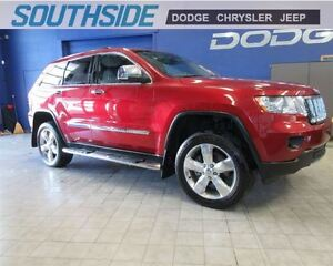 2012 Jeep Grand Cherokee OVERLAND 4X4 w/SAFETY TECH