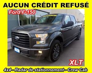2015 Ford F-150 XLT** 8 CYL. 5.0L**SUPERCREW**4X4**