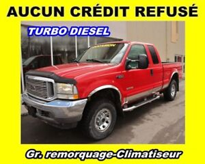 2003 Ford F-250 TURBO DIESEL 4X4 SUPER CAB *GR. REMORQUAGE*