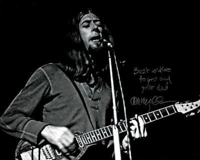 John Mayall Blues Signed 8x10 Photo