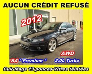 2012 Audi S4 3.0L TURBO* Premium*MAGS 19 PO*
