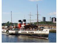 Waverley Steamer Trip Evening Cruise 20th July