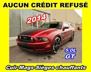 2014 Ford Mustang **GT**Cuir**Mags**Sièges chauffants**