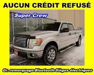 2011 Ford F-150 V8 4X4 *SUPERCREW* SIEGES CHAUF. *0$ COMPTANT*