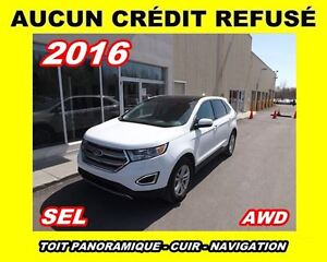 2016 Ford Edge SEL*TOIT PANORAMIQUE*AWD*