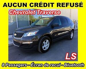 2015 Chevrolet Traverse LS **8 PASSAGERS**