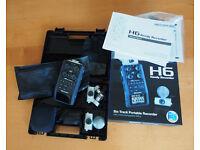 ZOOM H6 Portable 6 Track Recorder