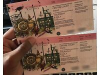 Wimbledon Day-4 tickets(two) for center court
