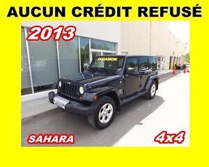2013 Jeep WRANGLER UNLIMITED Sahara*4x4*2 TOITS *
