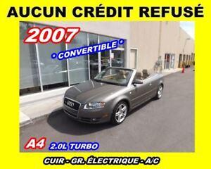 2007 Audi A4 **Quattro**Convertible**Cuir