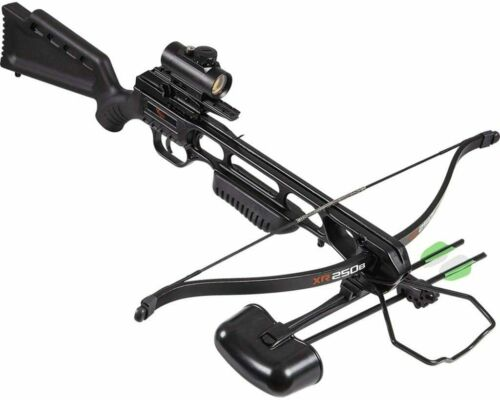 Brand New Barnett XR250B Recurve Crossbow Black Ready to Shoot Free Shipping