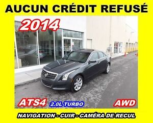 2014 Cadillac ATS **AWD,Cuir,Toit ouvrant,Navigation