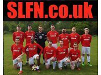 Join one of our teams. PLAYERS WANTED. Find football in London, play football in London, fg56