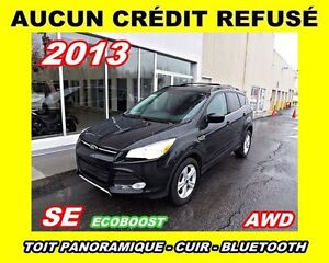 2013 Ford Escape SE AWD*toit pano, cuir*2.0L ECOBOOST