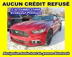 2015 Ford Mustang PREMIUM *CONVERTIBLE* GPS* Att. Approbation**