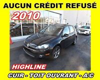 2010 Volkswagen Golf HIGLINE*CUIR,TOIT OUVRANT*