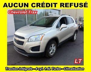 2013 Chevrolet Trax LT **AUCUN CRÉDIT REFUSÉ**