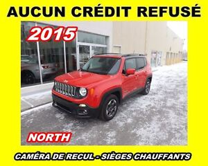 2015 Jeep Renegade **Nort Edition**Mags, Sièges chauffants**Aucu
