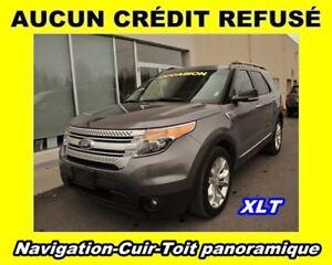 2013 Ford Explorer XLT**6 CYL. 3.5L**NAV**CUIR**A/C**AWD*