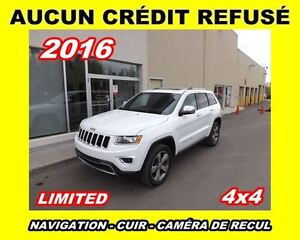 2016 Jeep Grand Cherokee **Limited**Toit ouvrant,Navigation**