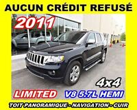 2011 Jeep Grand Cherokee Limited*V8,toit pano, navigation*