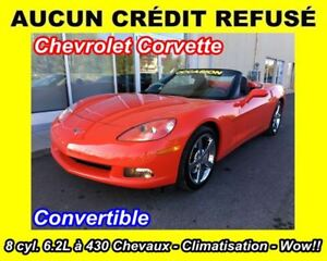 2010 Chevrolet Corvette Red Performance Edition Convertible