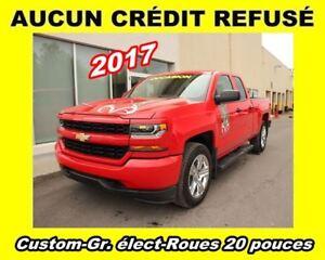 2017 Chevrolet Silverado 1500 **Custom**Gr. élect**Roues 20 pouc
