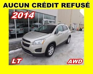 2014 Chevrolet Trax **LT**AWD**AUCUN CREDIT REFUSE**