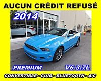2014 Ford Mustang **Premium**Manuelle, Cuir**Aucun credit refuse