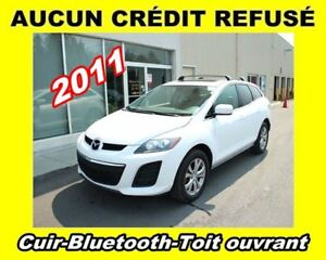 2011 Mazda CX-7 **AWD, Cuir, Toit ouvrant, Mags**