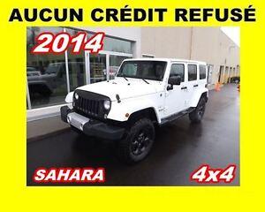 2014 Jeep Wrangler Unlimited Sahara*4x4*2 TOITS*