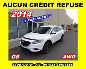 2014 Mazda CX-9 **GS**AWD,V6,7 places**