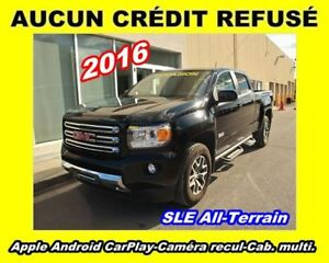 2016 GMC Canyon SLE ALL-TERRAIN**CABINE MULTIPLACES**WOW!!