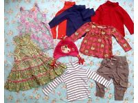 Girls 12-18 month 1-1.5 year bundle Zara Next - 9 items, good condition