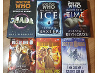 six large Doctor Who hardback books. £3 individually / £12 for all.