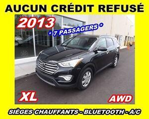 2013 Hyundai Santa Fe XL *7 PASSAGERS*AWD*vitres teintées*