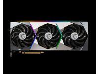 MSI NVIDIA GeForce RTX 3070 SUPRIM X 8GB GDDR6 Graphics Card