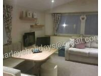 Lovely 3 bed caravan on Marton Mere Blackpool. Central heated with Decking.
