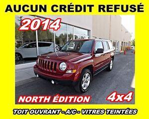 2014 Jeep Patriot **Toit ouvrant, 4x4, Mags**AUCUNCRÉDIT REFUSÉ*