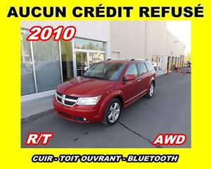 2010 Dodge Journey **R/T**AWD,Cuir,V6,Toit ouvrant**