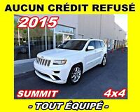 2015 Jeep Grand Cherokee Summit**Navigation, Toit panoramique**