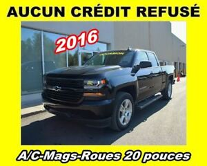 2016 Chevrolet Silverado 1500 CUSTOM**ROUES 20 PO**APPLE CARPLAY