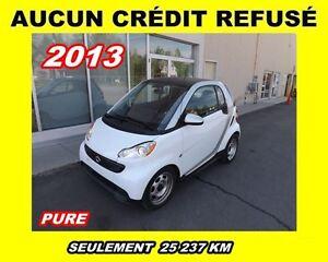 2013 smart fortwo Pure**A/C**AUCUN CRÉDIT REFUSÉ**