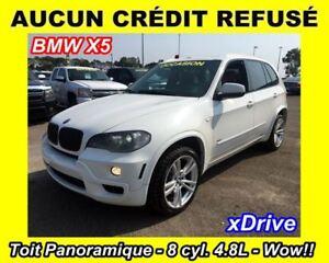2009 BMW X5 xDrive48i**TOIT PANO**AWD**8 CYL. 4.8L**CUIR**