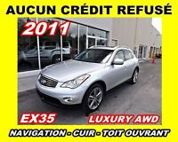 2011 Infiniti EX35 **Navigation, AWD, Cuir, Toit ouvrant**