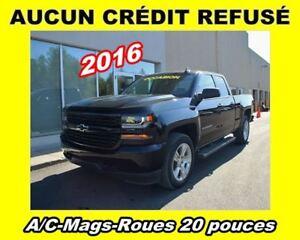 2016 Chevrolet Silverado 1500 CUSTOM**ROUES 20 PO**APPLE CARPLAY