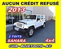 2013 Jeep WRANGLER UNLIMITED **Cuir,Navigation,2 toits**