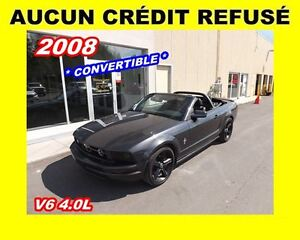 2008 Ford Mustang *CONVERTIBLE* ROLL BAR*Cuir