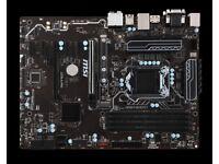 MSI Z270-A PRO LGA 1151 ATX, G3930 CPU, CPU COOLER, 4GB DDR RAM - Mining Bundle