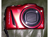 Canon power shot sx150 is 14.1 mega pixels 12 X optical zoom